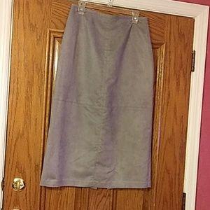 NortonMcNaughton grey skirt.